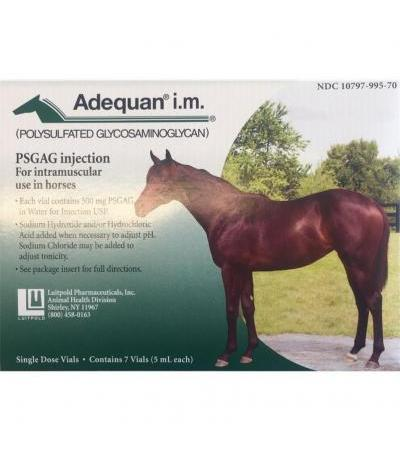 Adequan Equine I.M. 500mg/5ml 7 x 5ml